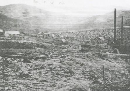 Aitken-Riley Marietta Association mine plant, Iditarod district, circa 1911