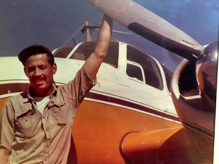 bob with plane prop