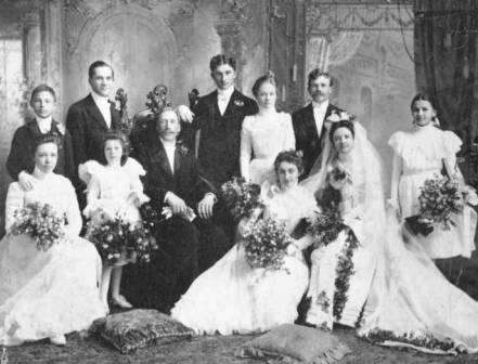 John Brynteson wedding portrait.