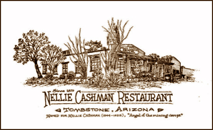 Ad for Nellie Cashman Restaurant