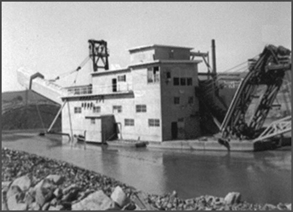 photo of Gold Dredge No. 8