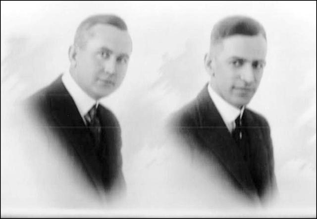Johnson and Harry Peake portrait