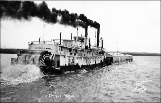 Steamer on the Yukon River