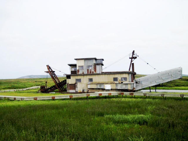 the Swanberg Dredge