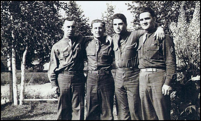 Miscovich men in uniform