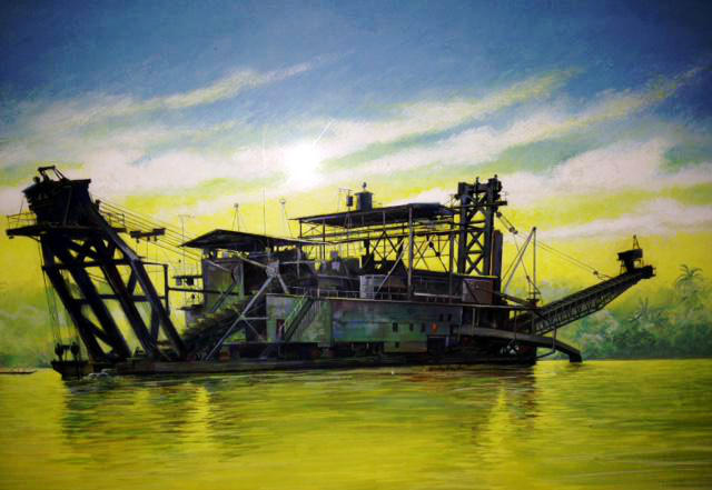 Another dredge in Columbia
