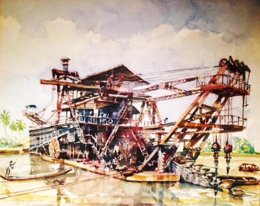 Columbian Dredge