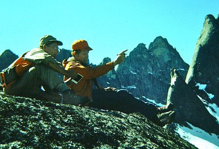 Irv and Gar Pessel in Brooks Range