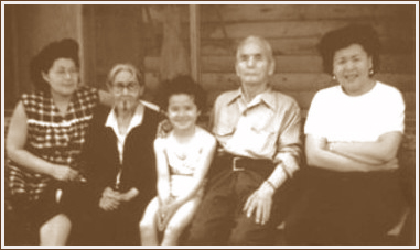photo of Yusada family